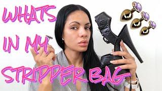 whats in my stripper bag stripper school stripper chronicles