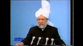Friday Sermon 23 April 1993
