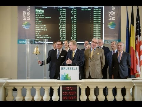 Immobel listed on the Brussels Stock Exchange since 1863