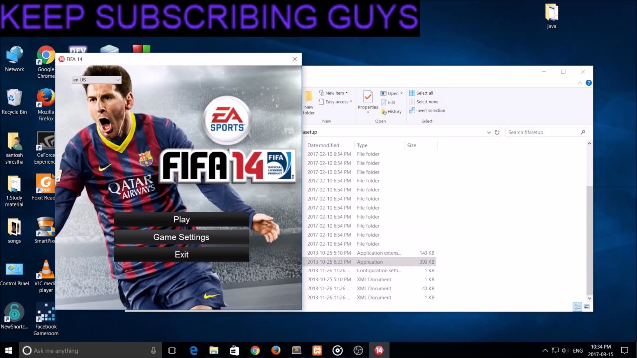How to change screen resolution in fifa 14|15|16|17