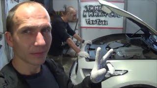 видео Замена передних амортизаторов в Москве