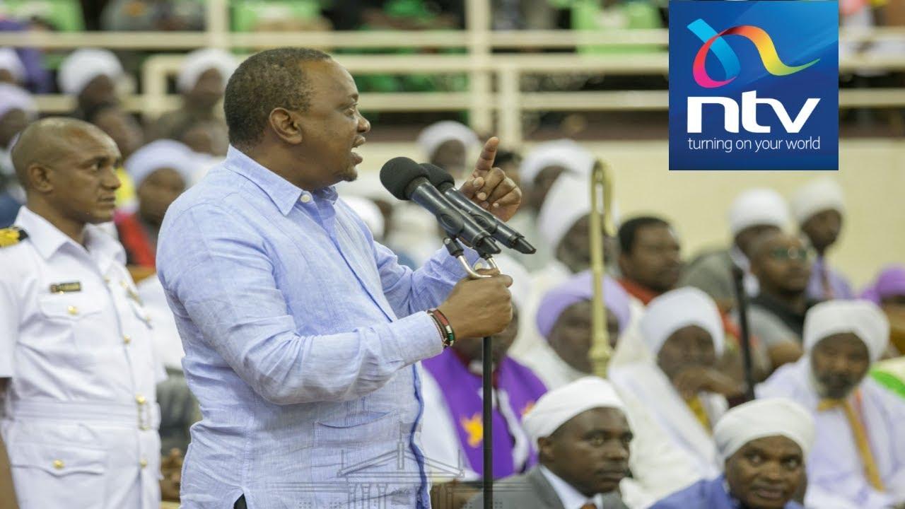 'Son of Jomo is still president!': Uhuru's raw expression of anger at Kasarani