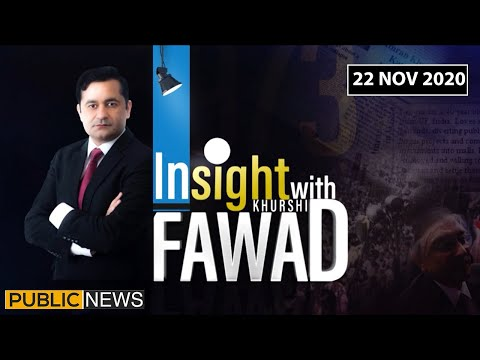 Insight with Fawad Khurshid - Sunday 22nd November 2020
