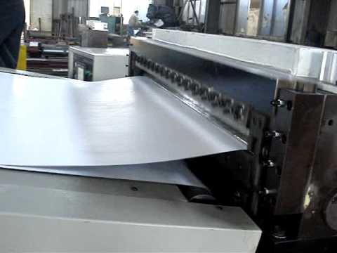 Hojeadora y convertidora de papel o cart n dfj b youtube - Papel de vinilo para cocinas ...