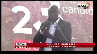 Le message de Dame Mbodj à la manifestation du 23 juin 2021