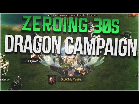 DRAGON CAMPAIGN ZEROING SOME 30S (CLASH OF KINGS)