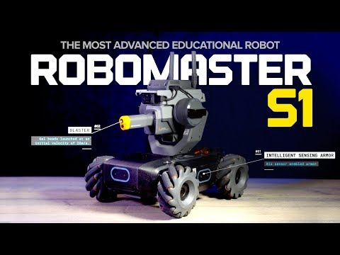 The Most Advanced Educational Robot - DJI Robomaster S1