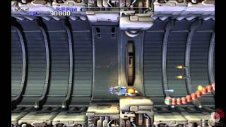 R-type Dimensions [PS3] Gameplay