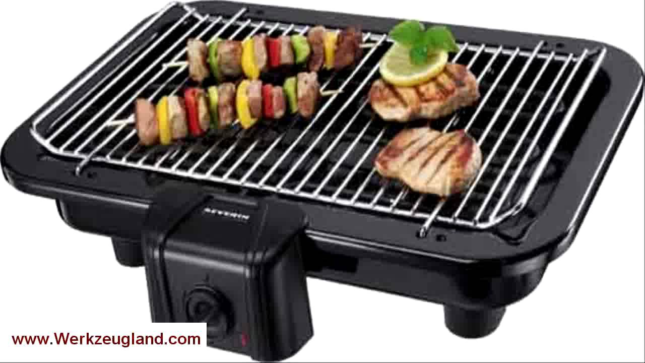 Severin Elektrogrill Pg 2791 : Severin pg2790 barbecue tischgrill schwarz youtube