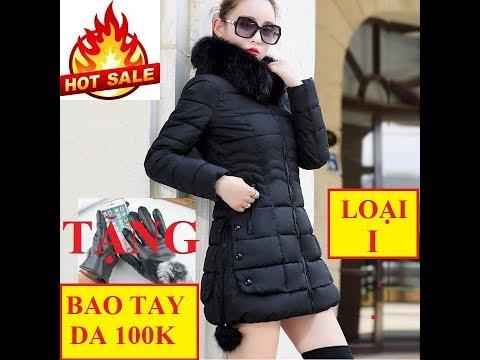 Áo Phao | Áo Phao NữDáng Dài Hàn Quốc | Áo Phao Lông Vũ Cổ | Stylenew Shop | 0974988877