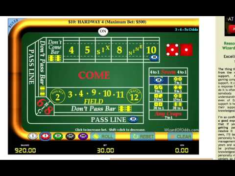 Craps strategy video party poker play money games