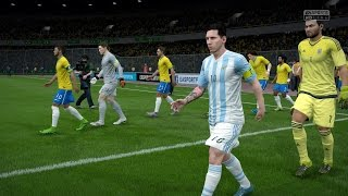 FIFA 16 | Brazil vs Argentina - Full Gameplay (PS4/Xbox One)