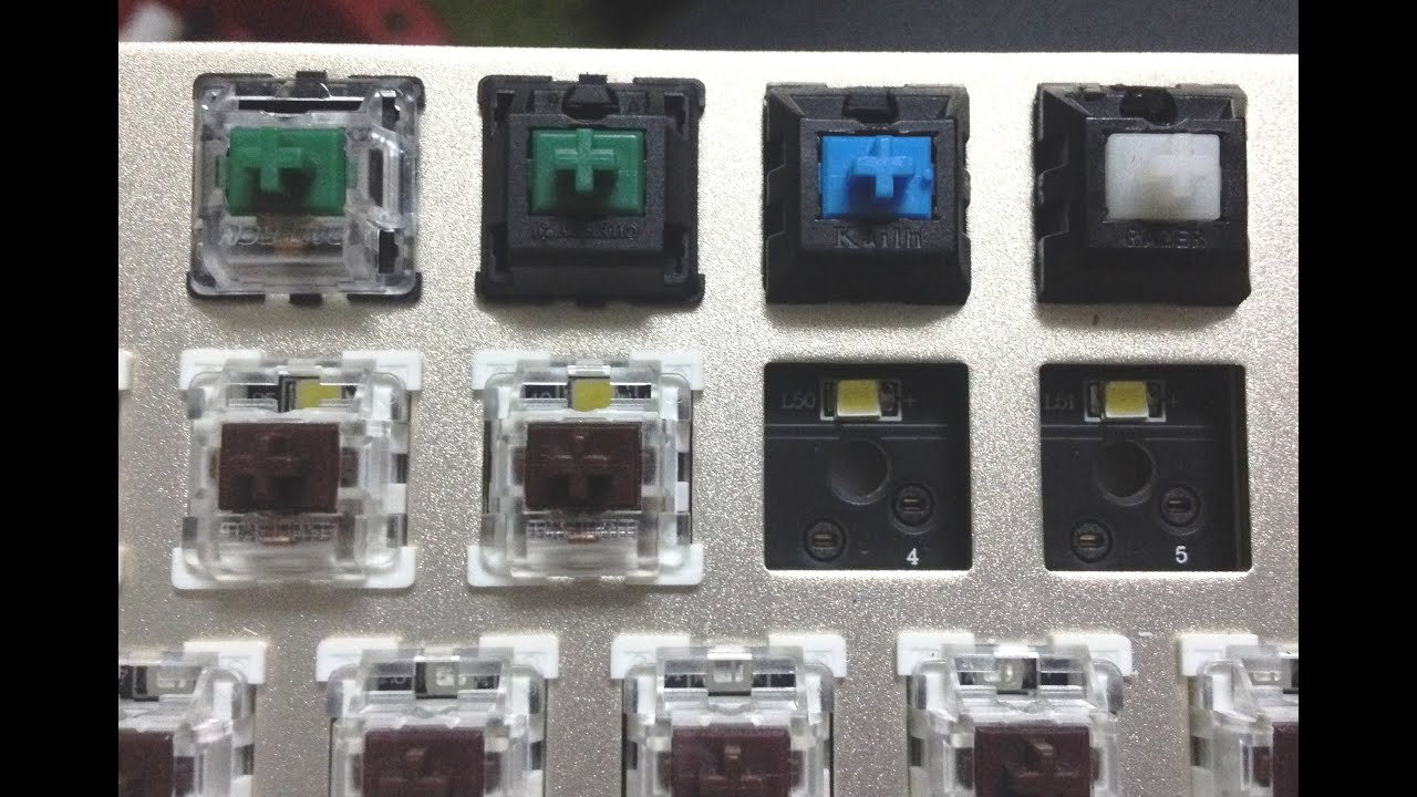 Using a standard MX type switches on TeamWolf ZHUQUE CIY keyboard ...