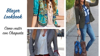 Blazer Lookbook / Blazer style for women / Fashion 2018/ Blazer Outfit Ideas