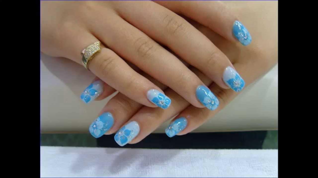 New Trick Acrylic Nails Near Me - YouTube