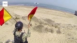 U.S. Marine Corps LCAC @ Dogue Beach, Ssang Yong 14.