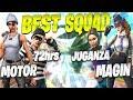 Fnatic Motor Best SQUAD In Fortnite Battle Royale w/ Atlantis Magin, 72HRS & Atlantis Juganza
