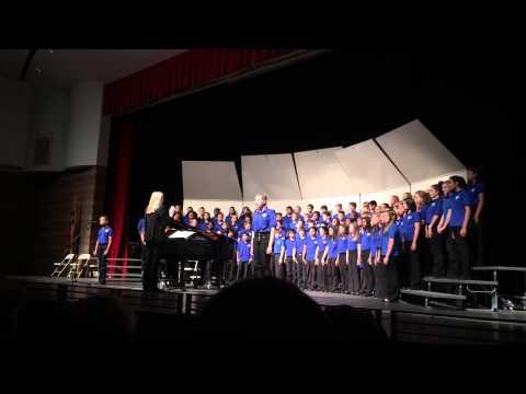 True Colors Westland Middle School 8th grade chorus