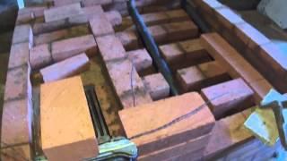 Всё о кирпичной печи ( установка топочной дверцы ) - 1(, 2014-09-11T10:47:46.000Z)