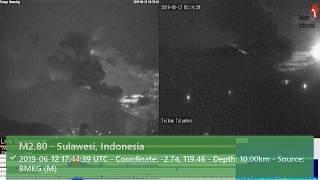 13/6/2019 1:38 WITA - Mount Agung Erupts
