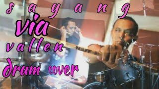 Via vallen sayang (drum cover) by : hilal naff 2017 Video