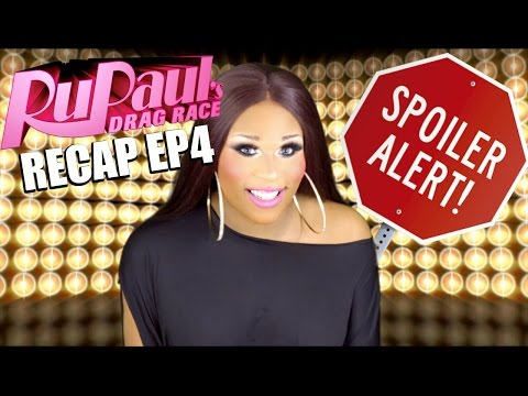 Rupauls Drag Race Recap with Peppermint Ep 4
