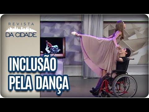 Dança Com Cadeira De Rodas - Revista Da Cidade (24/10/2017)