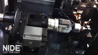 armature winder and commutator welder