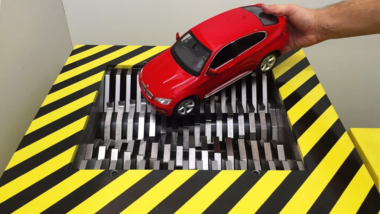 Download EXPERIMENT Shredding BMW X6 and Toys