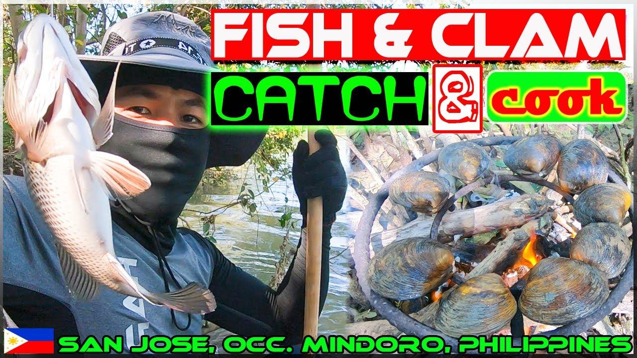 Harabas EP36 - Fish and Clam Catch and Cook {Sinigang na isda at Inihaw na Lokan}}
