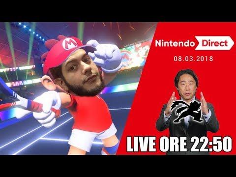 Nintendo Direct 08/03/18 - Il reveal di SUPER SMASH BROS per SWITCH!