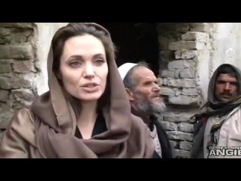 Angelina Jolie Returns To Afghanistan/Kabul - 2014