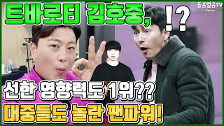 【ENG】트바로티 김호중, 선한 영향력도 1위?? 대중들도 놀란 팬파워! Kim Ho-joong, are you number one in good influence? 돌곰별곰TV