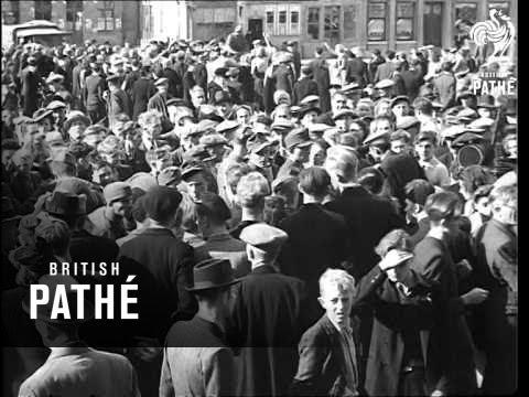 British Troops Enter Belgium (1944)