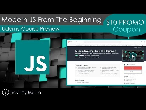 Udemy Course Alert - Modern JavaScript From The Beginning