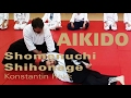 Aikido and Aikiken Shomenuchi Shihonage with Shomen Giri Entrance - Aikido Technique Basics