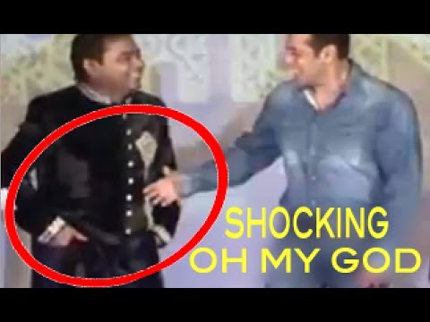 shocking---a.r.rahman-insult's-salman-khan--ignores-shaking-hands-with-salman-khan