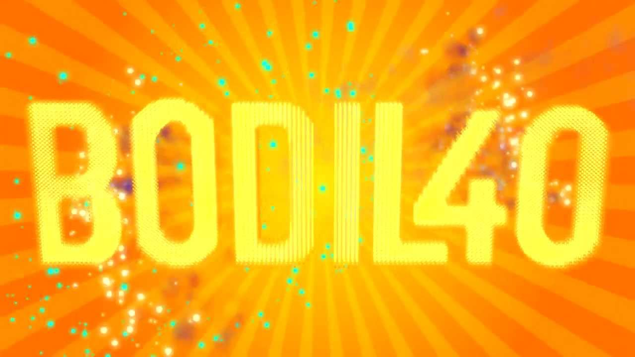 BODIL40 Intro Of Fireworks & Cakes - YouTube
