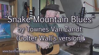 Snake Mountain Blues - Townes Van Zandt (Colter Wall cover)