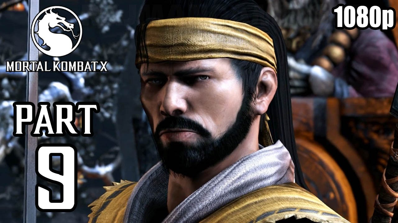 Mortal Kombat X Walkthrough PART 9 (PS4) 60fps No Commentary [1080p]  TRUE-HD QUALITY