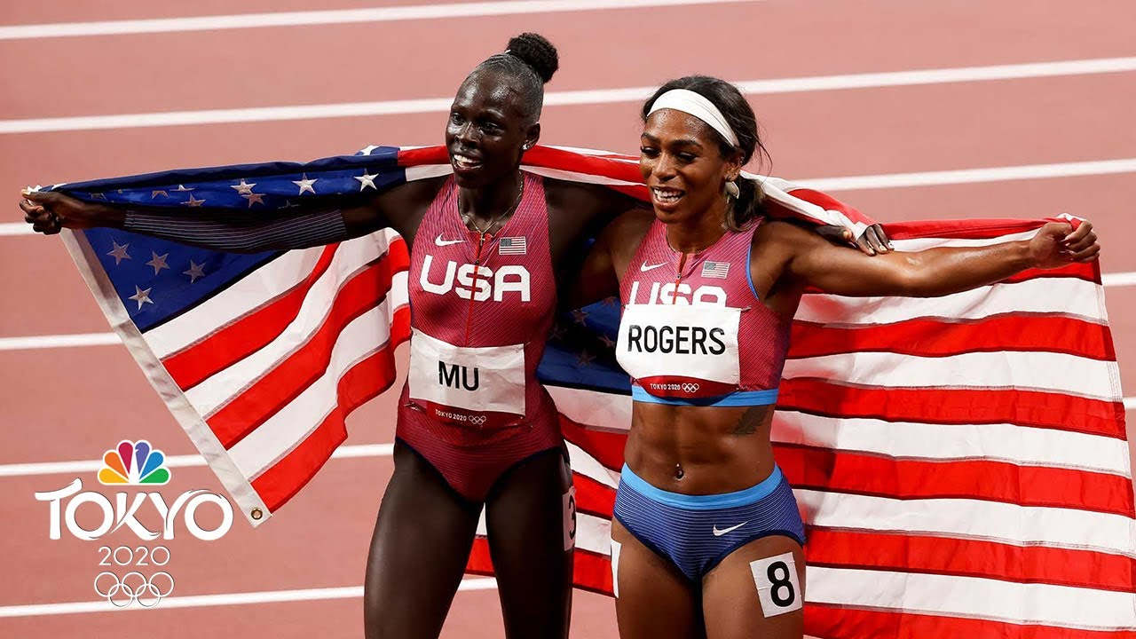 Athing Mu races to gold in Tokyo, makes US Olympic history