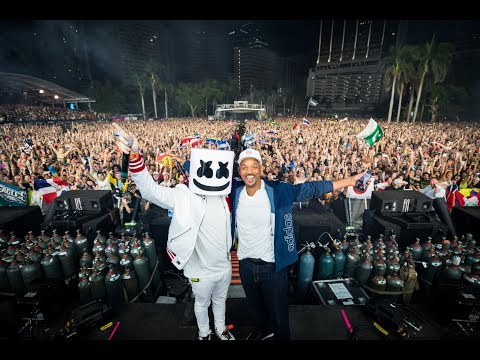 MARSHMELLO  At Ultra Music Festival Miami 2018