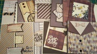 10 cards 1 kit / Crafty Ola's