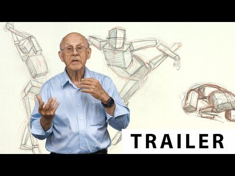 Figure Drawing With Glenn Vilppu | Part 3: Box Forms - TRAILER (Ultra HD 4K)