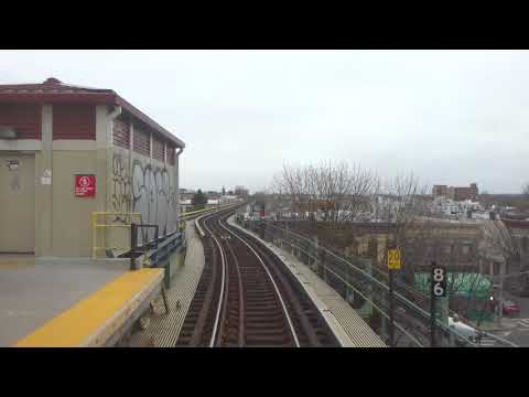NYC Subway: Railfan Window R42 (M) From Myrtle-Wyckoff Avenues To Metropolitan Avenue (Track 1)