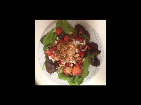 Salmon Strawberry Salad