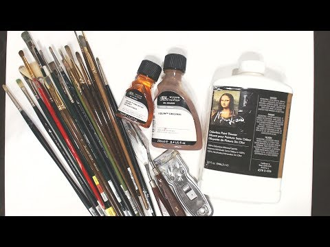 Oil Painting Supplies That I Use