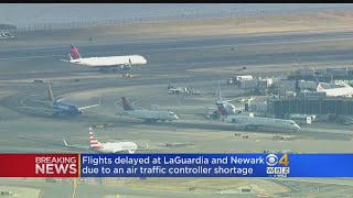 Flights Delayed At LaGuardia, Nework Due To Air Traffic Controller Shortage