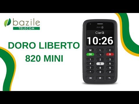 Doro Liberto 820 mini Claria presenté par Bazile Telecom
