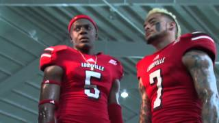 2013 University of Louisville Football Photo Shoot